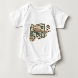 Awaken the Buddha Within Baby Bodysuit