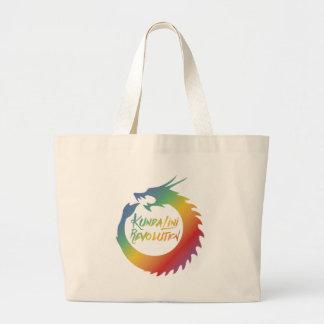 Awaken the Flame: Kundalini Revolution Large Tote Bag