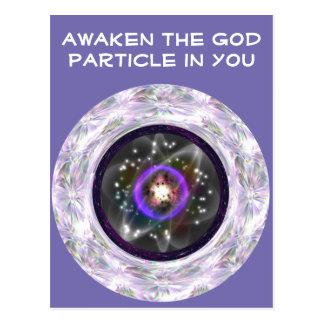 Awaken the God Particle postcard