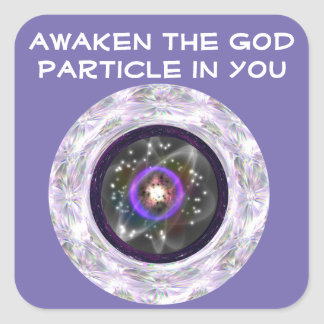 Awaken the God Particle sticker