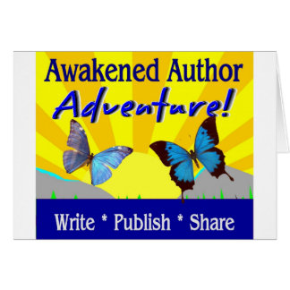 Awakened Author Adventure Podcast Card with Butter