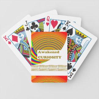 Awakened CURIOSITY : Unique ART n WISDOM Words Playing Cards