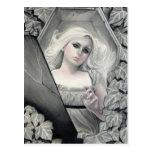 Awakened Vampiress Postcard