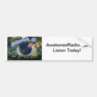 AwakenedRadio Bumper Sticker for Awake People Car Bumper Sticker
