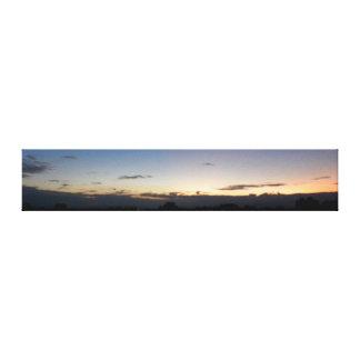 Awakening/City Skyline Before Sunrise Photography Canvas Print