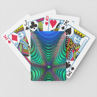 Awakening Colorful Fractal Abstract Art Bicycle Playing Cards