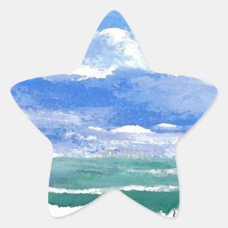 Awakening Ocean Art Gifts CricketDiane Sea Waves Star Sticker