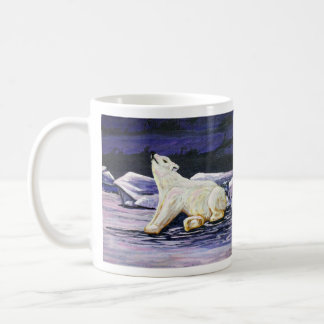 Awakening Polar Bear Classic White Coffee Mug
