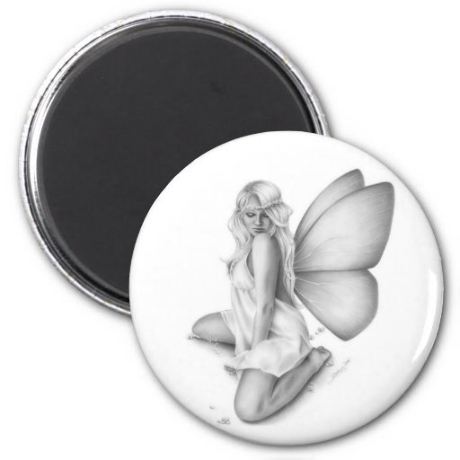 Awakening Spring Fairy Magnet