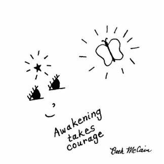 'Awakening Takes Courage' Photo Sculpture