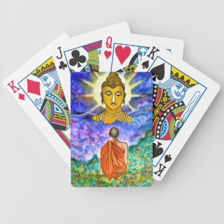 Awakening the Buddha within Bicycle Playing Cards