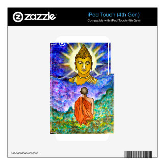 Awakening the Buddha within Decal For iPod Touch 4G