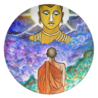 Awakening the Buddha within Dinner Plate
