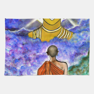 Awakening the Buddha within Kitchen Towel