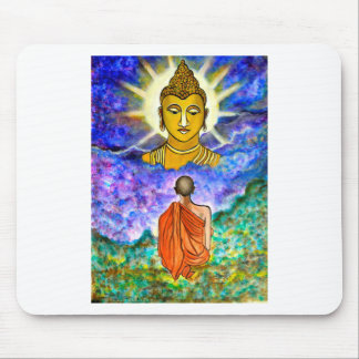 Awakening the Buddha within Mouse Pad