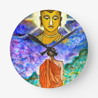 Awakening the Buddha within Round Clock