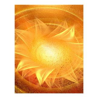 Awakening the chakra's full colour flyer