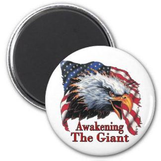 Awakening The Giant 2 Inch Round Magnet