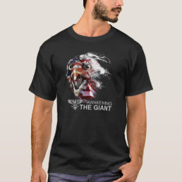 AWAKENING THE GIANT - AMERICAN ANGRY EAGLE T SHIRT