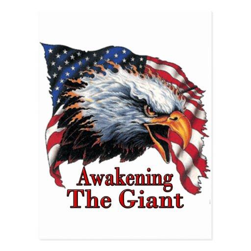 Awakening The Giant Postcard