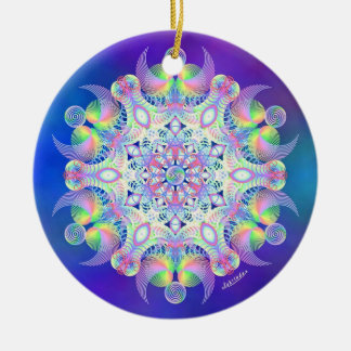 Awakening to Unity Ceramic Ornament