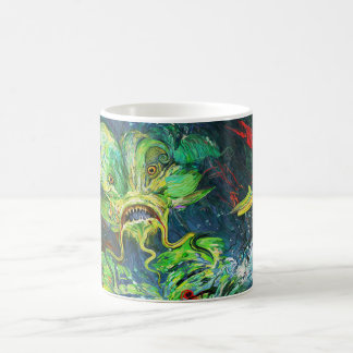 Awakening Upon Death of the Bride of the Creature Coffee Mug