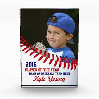 Award A Baseball Player Award With A Custom Award