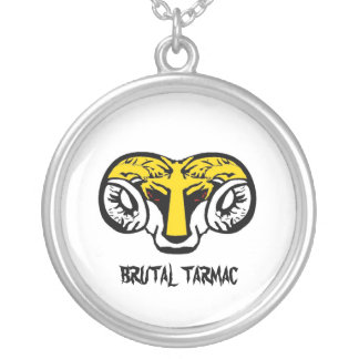 AWARD A MEDAL TO ROUND PENDANT NECKLACE