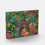 Award Floral Abstract Stained Glass