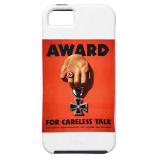 Award For Careless Talk iPhone SE/5/5s Case