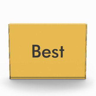 Award for the best