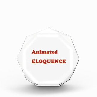 AWARD Gift:  ANIMATED ELOQUENCE word play