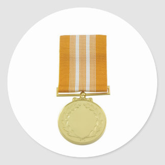 Award medal stickers