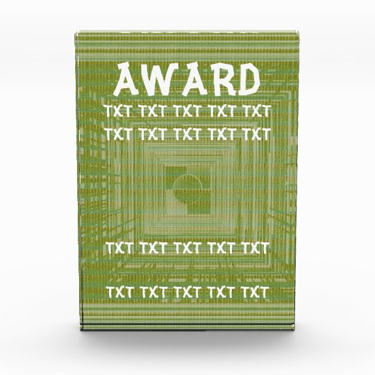 Award Template -  Add - Text Image Delete existing