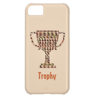AWARD : Vintage Engraved Gold iPhone 5C Covers