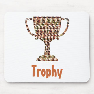 AWARD : Vintage Engraved Gold Mouse Pad