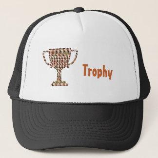 AWARD : Vintage Engraved Gold Trucker Hat
