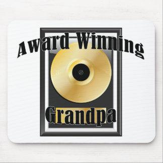 Award winning Grandpa Mouse Pad