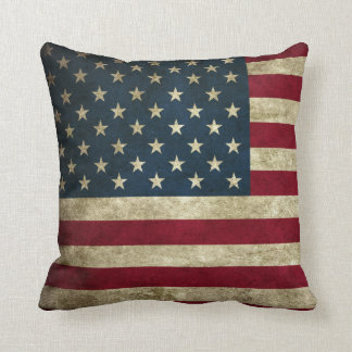 Award Winning Vintage U.S. Flag Pillow