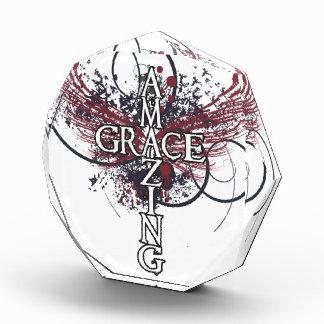 Award with amazing grace cross
