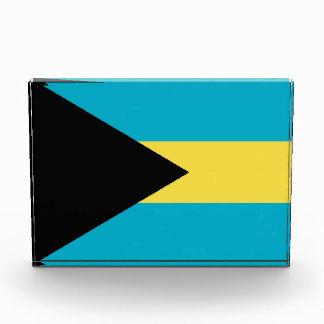 Award with flag of Bahamas