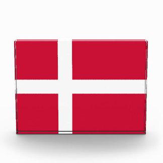Award with flag of Denmark