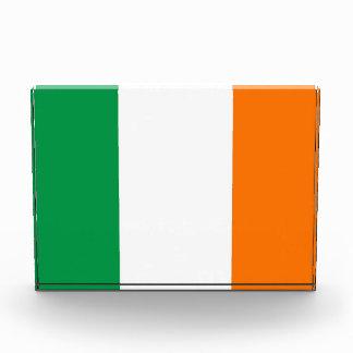 Award with flag of Ireland