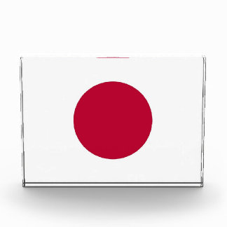Award with flag of Japan