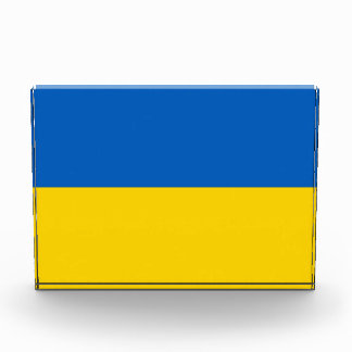 Award with flag of Ukraine