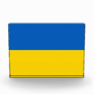 Award with flag of Ukraine