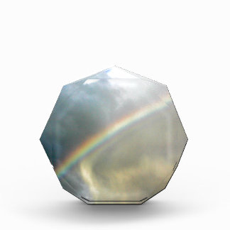 award with photo of pretty rainbow