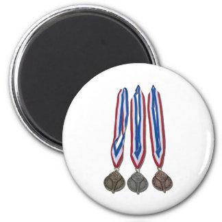 AwardRibbons122410 Imán Redondo 5 Cm