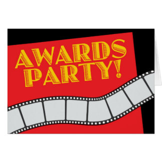 AWARDS PARTY CARD