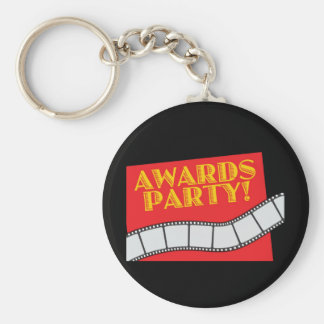 AWARDS PARTY BASIC ROUND BUTTON KEYCHAIN